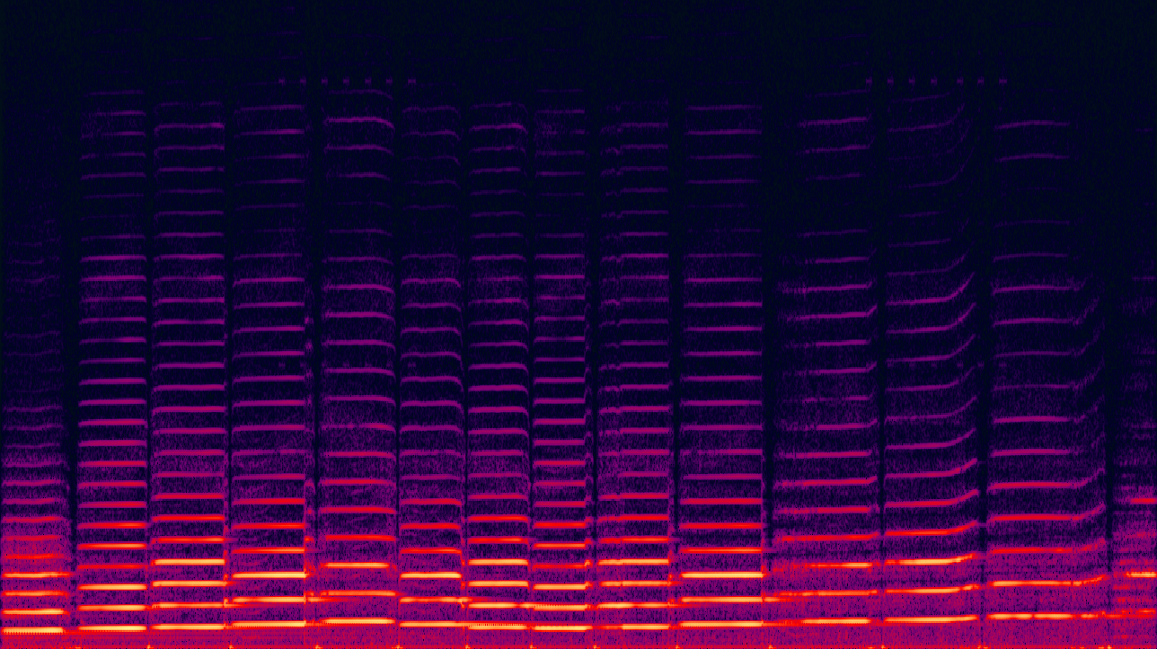 Spectrogram of a violin
